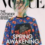Рисунок Билли Айлиш нарисованный 16-летней девушкой из Пермского края стал цифровой обложкой Vogue